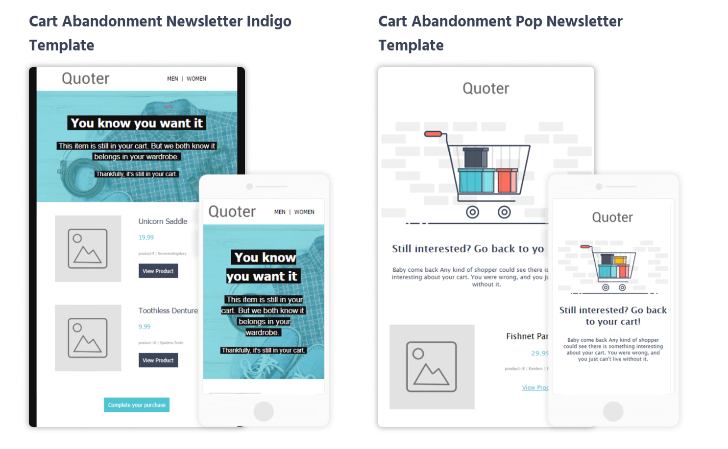 moosend-cart-abandonment-examples