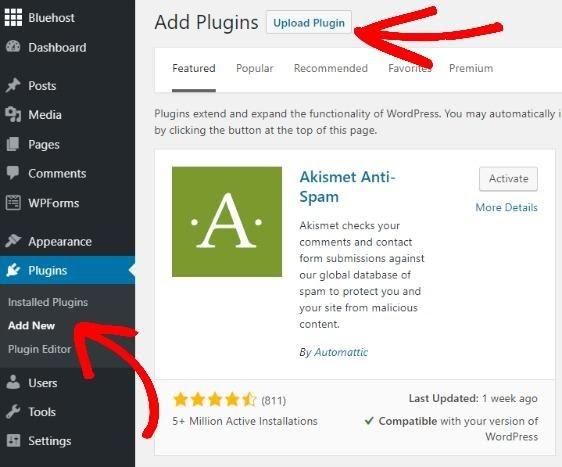install monsterinsights plugin