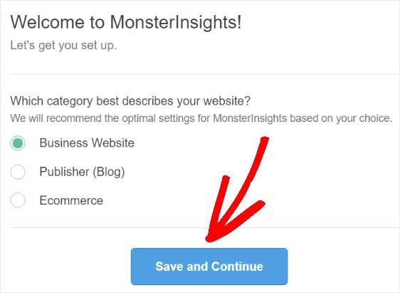 monsterinsights category