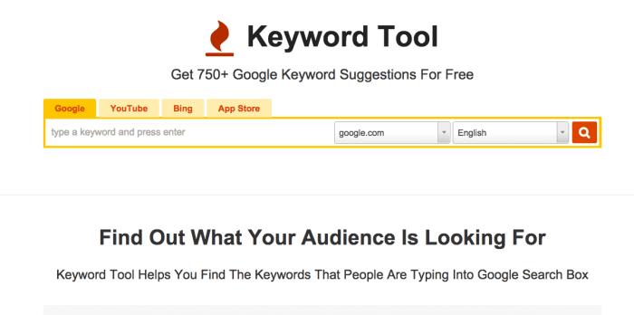 Best KeywordTool research