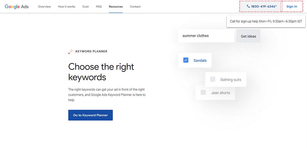 Best Google Keyword Planner