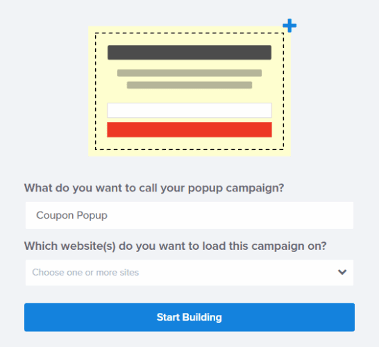build a button that embed into website