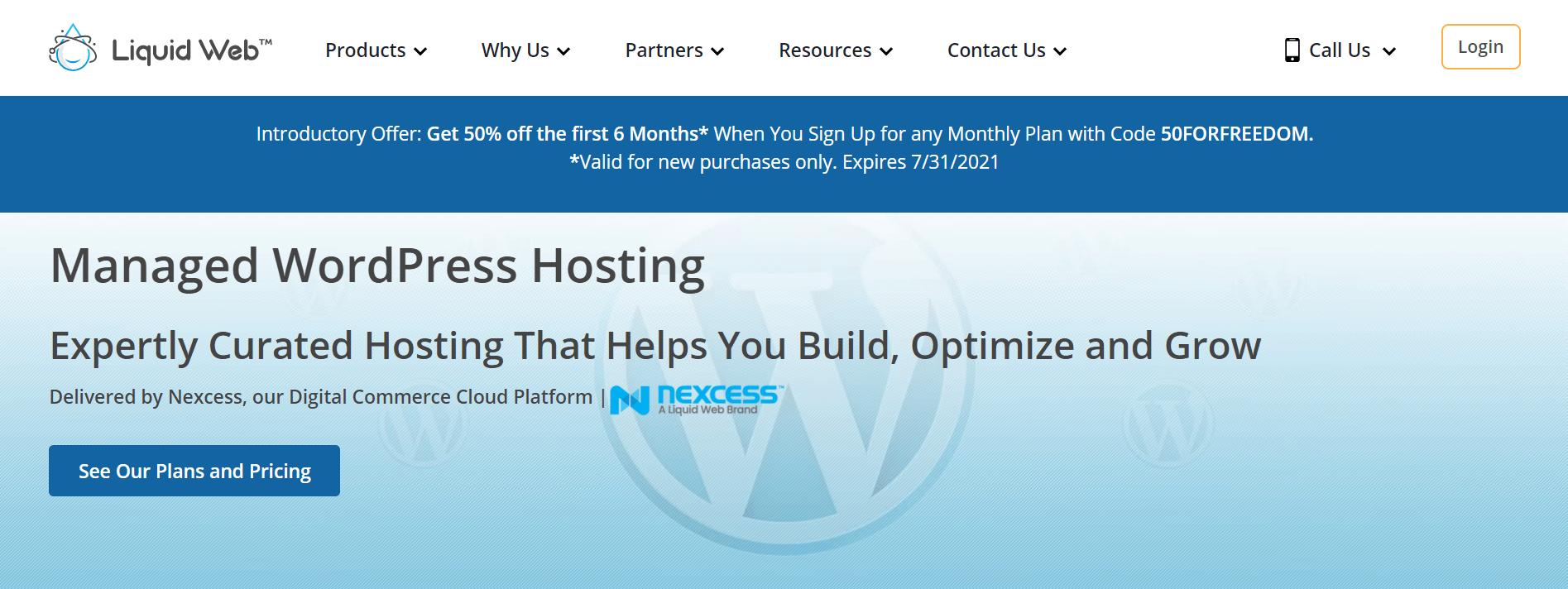 liquid web wordpress hosting