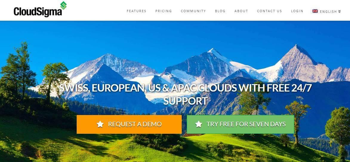 cloudsigma web hosting free trial
