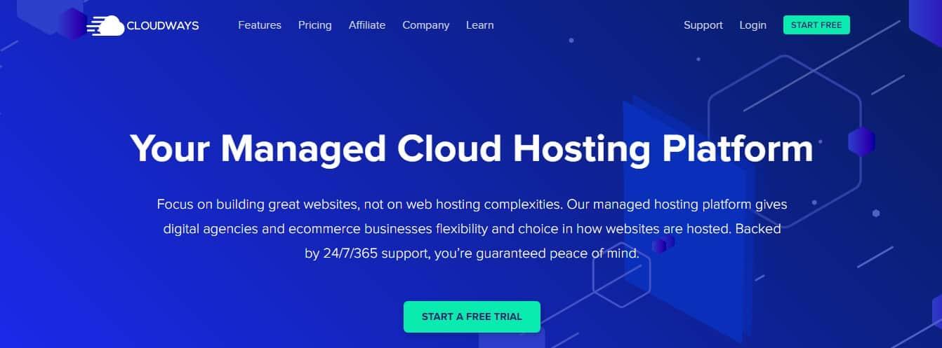 cloudways web hosting free trial