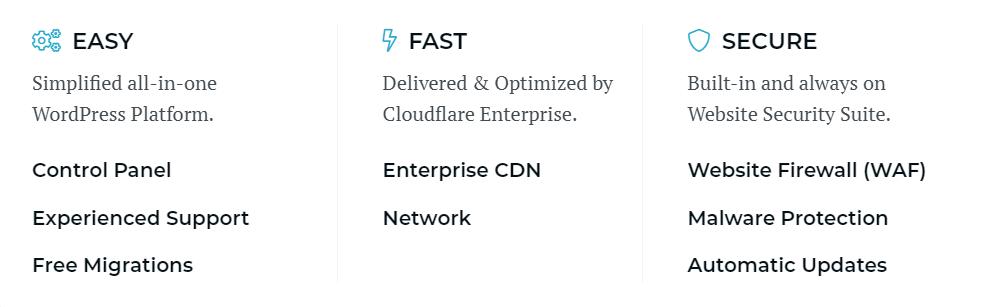 rocket.net features